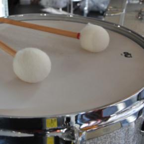 Schule, Schlagzeug, Studium